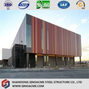 Modern Steel Structure Exhibition Building with Gallery pictures & photos