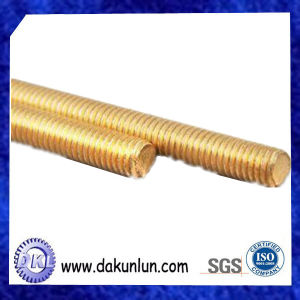 Customized Solid Brass All Thread Threaded Rod Bar Studs pictures & photos