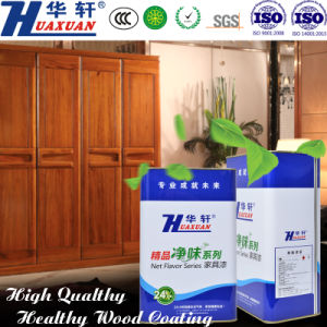 Huaxuan PU Air Clean High Solid Transparent Primer Wooden Furniture Paint pictures & photos