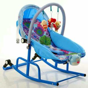 Soothe Soft Baby Bouncer/ Rocker with Music and Vibration pictures & photos