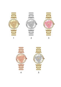 Luxury Style Diamond Encrusted Watch Women Wrist Watches pictures & photos