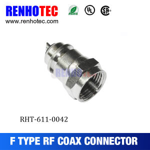Crimp Wire Terminal Male Coaxial Cable F Connector pictures & photos
