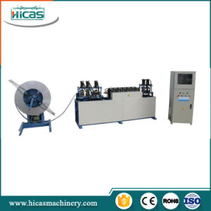 Steel Strip Machine for Making Nailless Plywood Box pictures & photos
