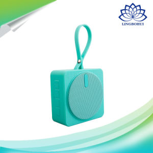 IP56 Mini Bluetooth 4.2 Four Color Outdoor Sport Waterproof Speaker Box pictures & photos