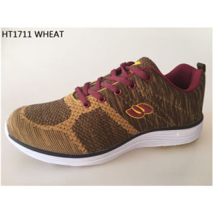 Fashion Flyknit Upper Casual Shoes Custom Style No.: Running Shoes-1711 Zapato pictures & photos