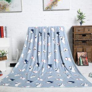 2017 New design Dog Cartoon design Flannel Fleece Blanket for Kids Bed pictures & photos