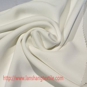 Twill Polyester Fabric for Dress Shirt Skirt Garment Curtain Home Textile pictures & photos