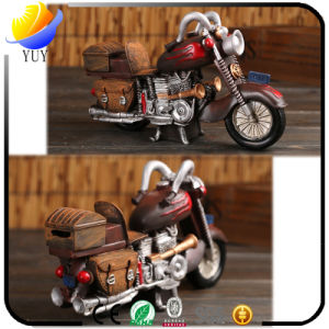 Resin Crafts Zakka Resin Crafts Cafe Vintage Motorcycle Decoration Creative Money-Safe Tank Home Decorations pictures & photos