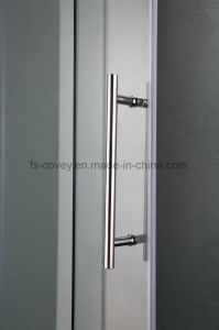 Sliding Shower Door with Double Side Easy Clean Tempered Glass pictures & photos