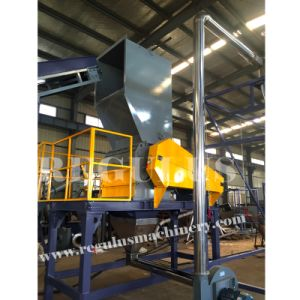 High Efficient V-Shape Rotor Pet Bottles Crusher Machine pictures & photos