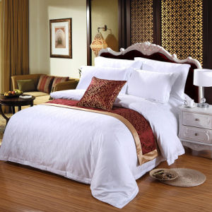 Soft Luxury 250 Count Duvet Cover Sets with Jacquard pictures & photos