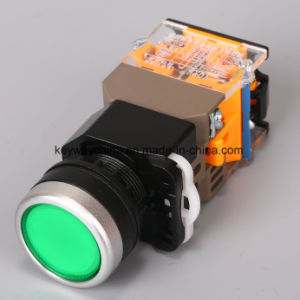 22mm Illuminated Pushbutton Switch (LA118MLN) pictures & photos