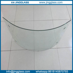 Tempered Curved Glass Bended Tempered Glass for Buildings pictures & photos
