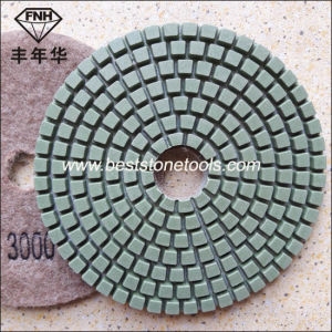 Wd-1 Diamond Resin Flexible Polishing Pad for Granite