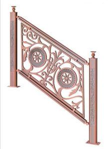 Saudi Arabia Aluminum Railing for Stairs pictures & photos