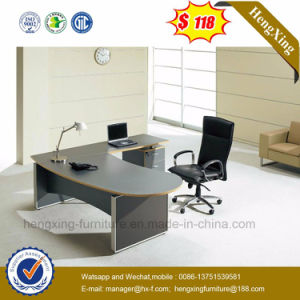 L-Shape Office Desk Big Size Melamine Office Furniture (HX-G0441) pictures & photos