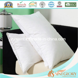 Down Proof Fabric Casing White Duck Feather Down Filling Pillow pictures & photos