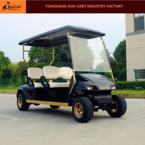 Customized Good Quality 4 Seater Electric Golf Cart pictures & photos