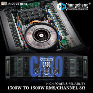 Ca30 Ca40 Series High Power Class H Professional Power Amplifier. pictures & photos