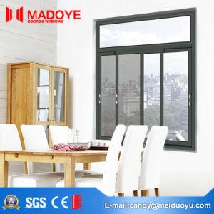 Grey Aluminium Frame Windows for Building Material pictures & photos