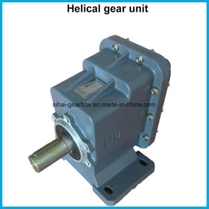 Helical Power Transmission Gearbox Helical Motor Reducer Helical Reducer pictures & photos