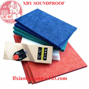 Best Selling Decoration Wall Panels Acoustic Panels Soundproofing Polyester Fiber Board pictures & photos