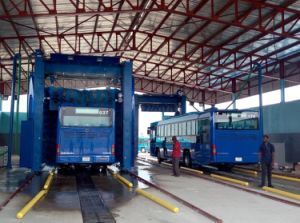 Automatic Truck Bus Lorry Wash Machine System Quick Clean High Quality Manufacture Factory pictures & photos