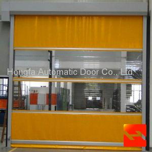 1.2mm PVC Rapid Rolling Door with Radar Sensor pictures & photos