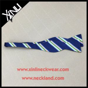 Silk Jacquard Woven Bowtie Self for Men pictures & photos