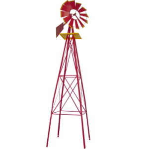 6FT Garden Decoration Metal Windmill for Outdoor Use pictures & photos