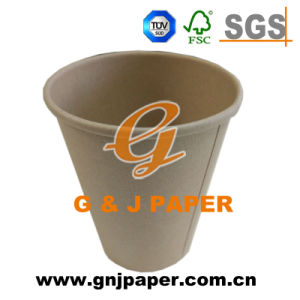 Brown Kraft Paper Cup with Single Wall for Sale pictures & photos