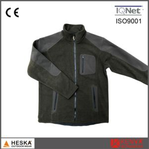 Custom Logo Mens Zip up Sports Fleece Jacket pictures & photos