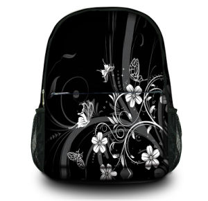 Black Laptop Canvas Backpack Rucksack Bags for Women & Men pictures & photos