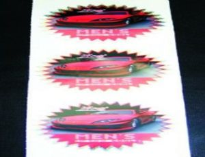 Water Proof Car Stickers Printing Automobiles Stickers