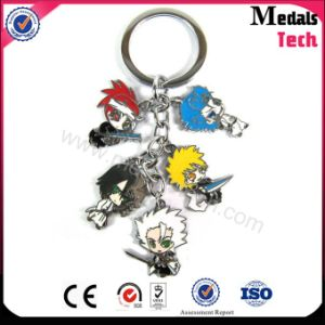 Combination Mini Car Key Pendant Animation Metal Keychain pictures & photos
