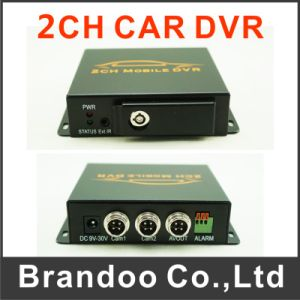 2CH Vehicle Mobile SD Card Truck DVR pictures & photos