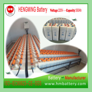 Hengming Gnz550 220V550ah Kpm550 1.2V Pocket Type Nickel Cadmium Battery Kpm Series (Ni-CD Battery) Rechargeable Battery pictures & photos