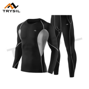 Men′s Tight Sport Suit Wear with Breathable pictures & photos