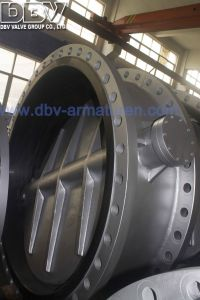 Industrial Valve Flanged Cryogenic Eccentric Butterfly Valve pictures & photos