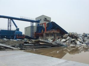 Psx-4500 Recycling Scrap Metal Shredder Line pictures & photos