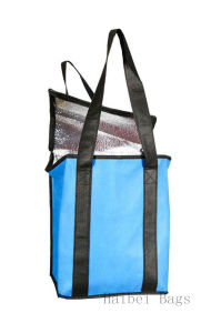 Insulated Non Woven TNT Cooler Bag, Picnic Bag, Lunch Bag, for Food, Drink Bottle, Beer Can, Ice Cooling, Shopping Box pictures & photos