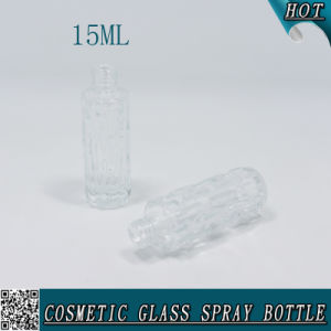 15ml Clear Perfume Glitter Glass Spray Bottle with Atomizer 15ml pictures & photos