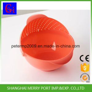 New Products on China Market Washing Drain Picnic Plastic Basket pictures & photos
