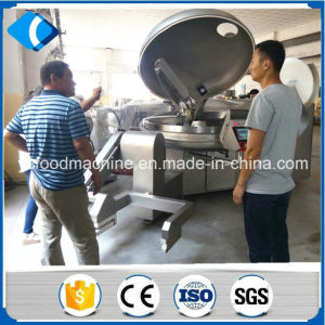 Meat Vacuum Bowl Cutter for Making Sausage Filler pictures & photos