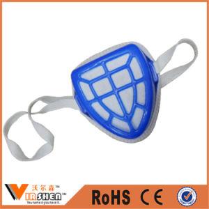 Non Woven Filter Mask Blue Colour Plastic Nose Dust Mask pictures & photos