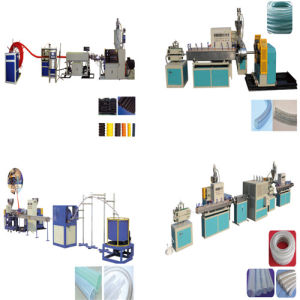 PVC Steel Wire Reinforced Hose Production Line pictures & photos