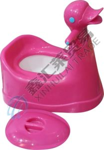 Duck Cartoon Baby Potty Baby Plastic Toilet pictures & photos
