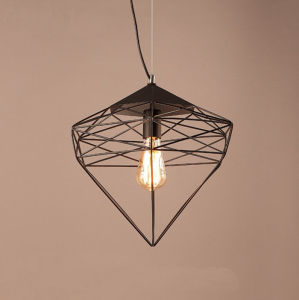 2017 Latest Post Modern Style Restaurant Black/Gold Hanging Pendant Lamp Lighting for Bar pictures & photos