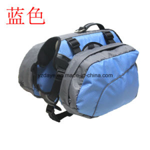 Adjustable Dog Backpack Pet Products for Hiking Camping Travel Pack Outdoor Accessory Saddlebag (YD636) pictures & photos