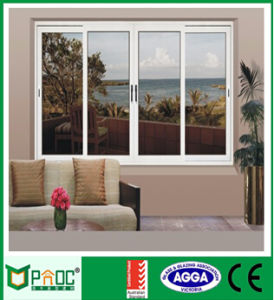 Residential Aluminum Sliding Window with Grill pictures & photos